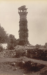 Jain Tower in Chittore Fort (General view)